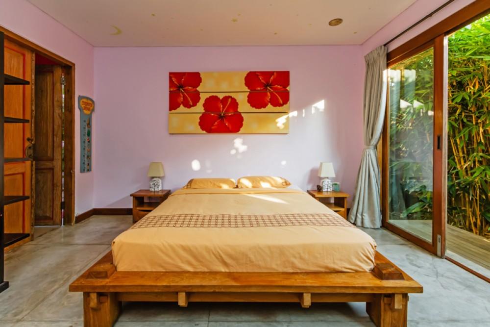 Villa confortable de trois chambres à coucher à vendre à Kerobokan
