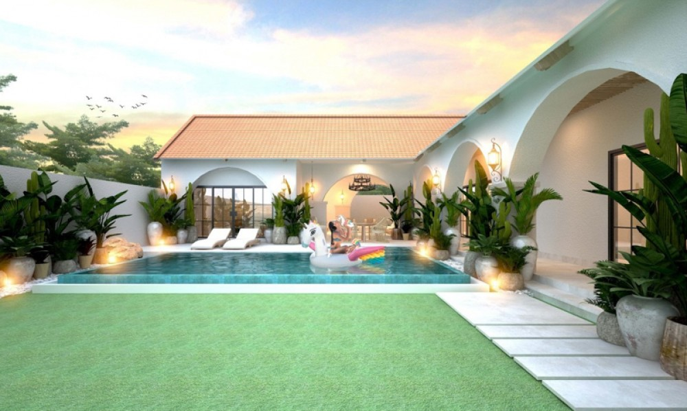 Brand New Four Bedrooms Villa for Sale in the Heart of Seminyak