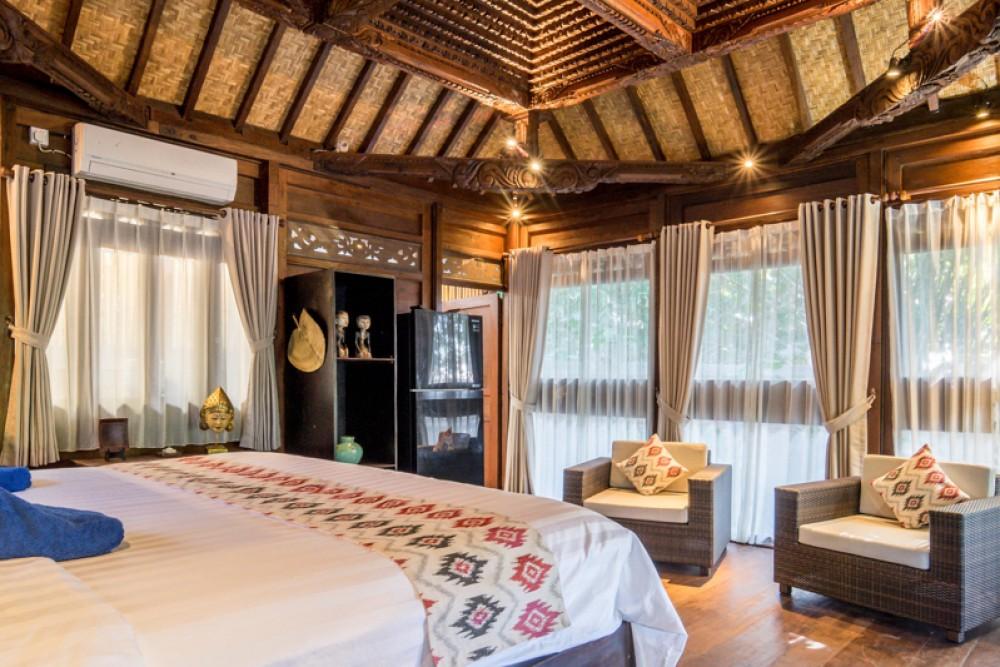 Traditional One Bedroom Joglo Villa for Sale in Kerobokan