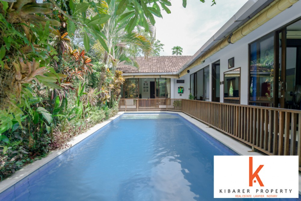 Comfortable and Relaxing Three Bedrooms Villa for Sale in Kerobokan