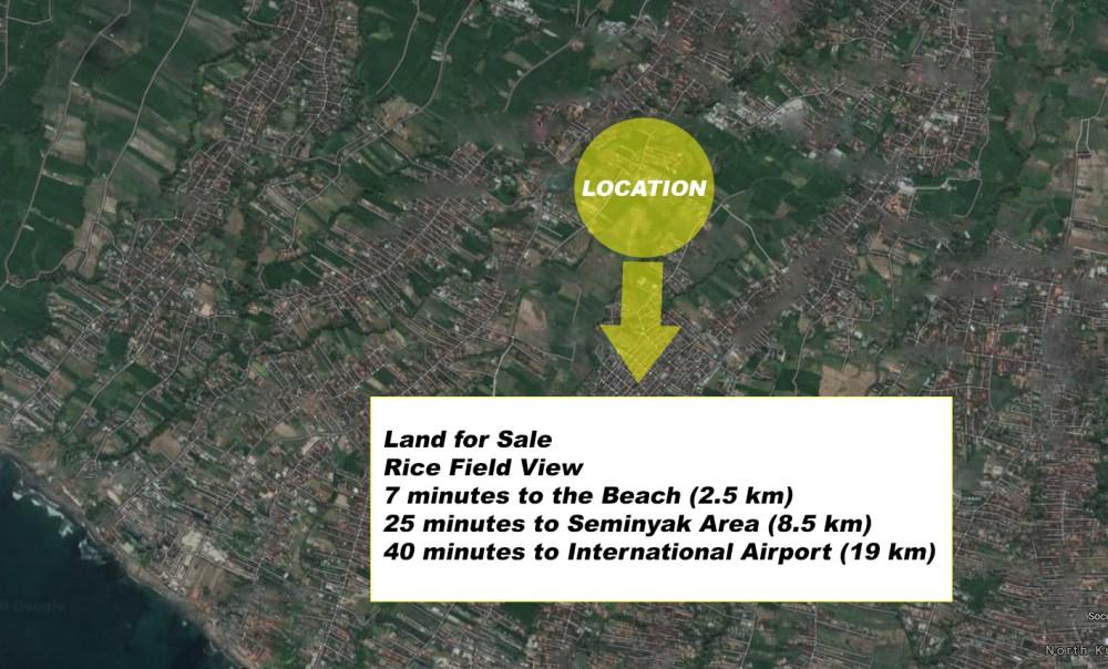 Terrain à bail à long terme situé dans le quartier branché de Batu Bolong