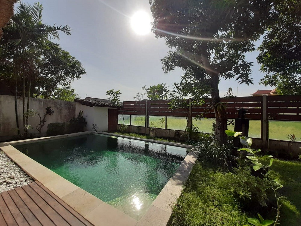 Charming three bedrooms villa with rice field view  in Padonan