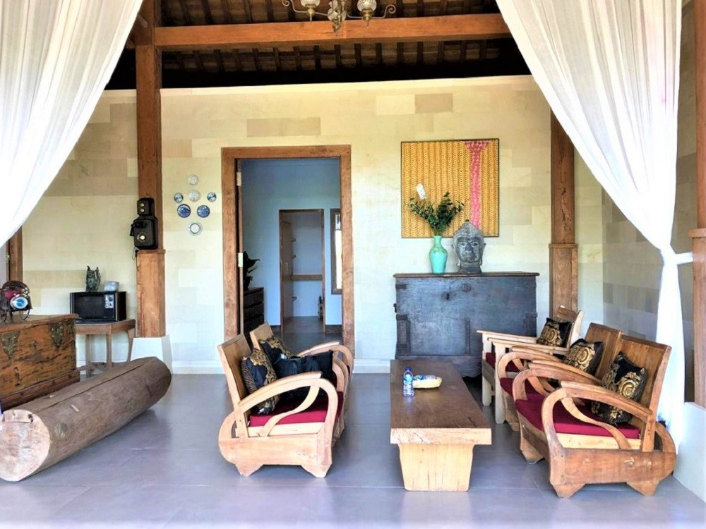 Brand new four bedroom joglo style villa For Yearly Rental