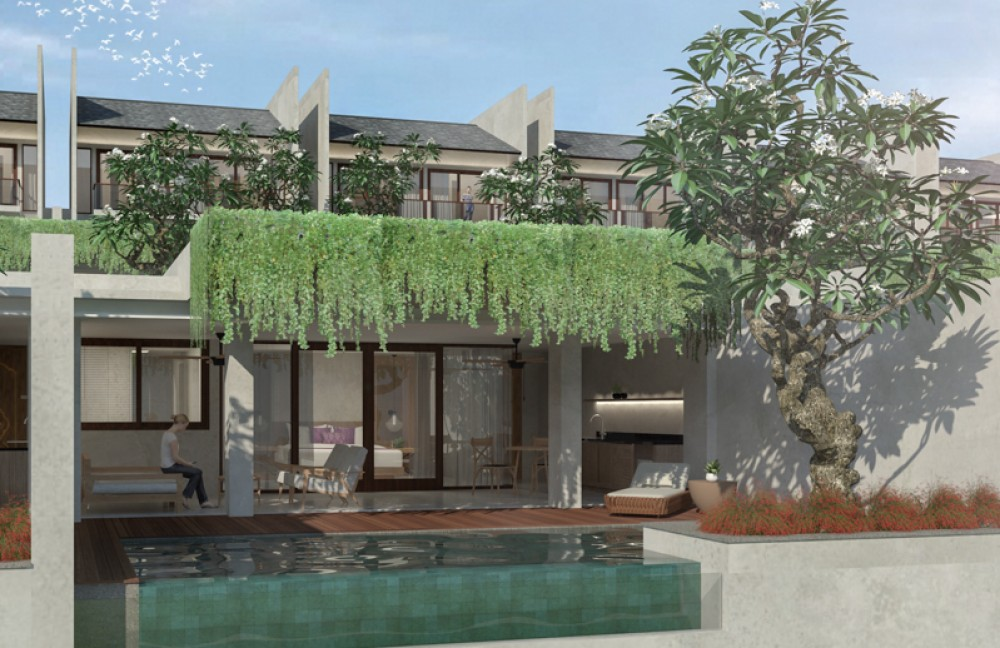 Off Plan Suites and Villas Project for Sale in Ungasan