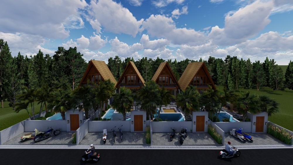Pererenan Off Plan 2 Bedroom Villa for Leasehold Sale