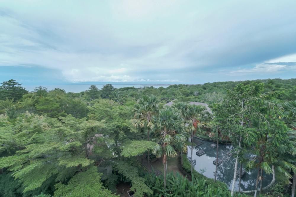 Magnifique Penthouse avec vue sur l'océan à vendre à Jimbaran