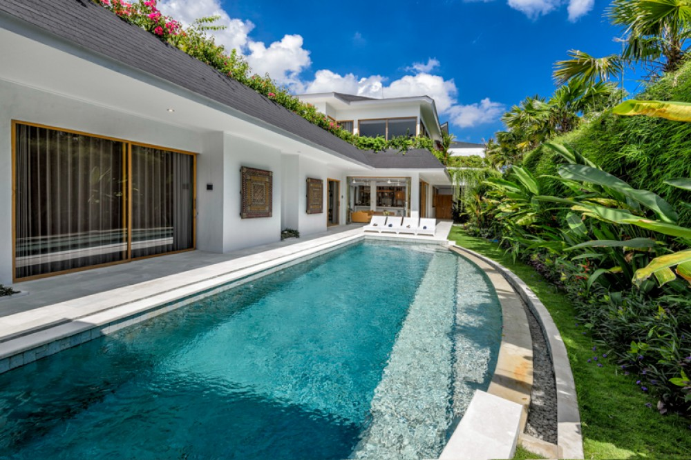 New Modern Luxury Villa for Lease in Berawa
