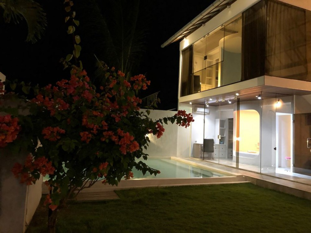 Modern two bedrooms project villa for sale in Tanjung Benoa