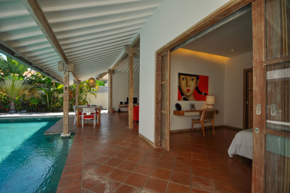 Beautiful Tropical Three Bedrooms Villa for Sale in Seminyak