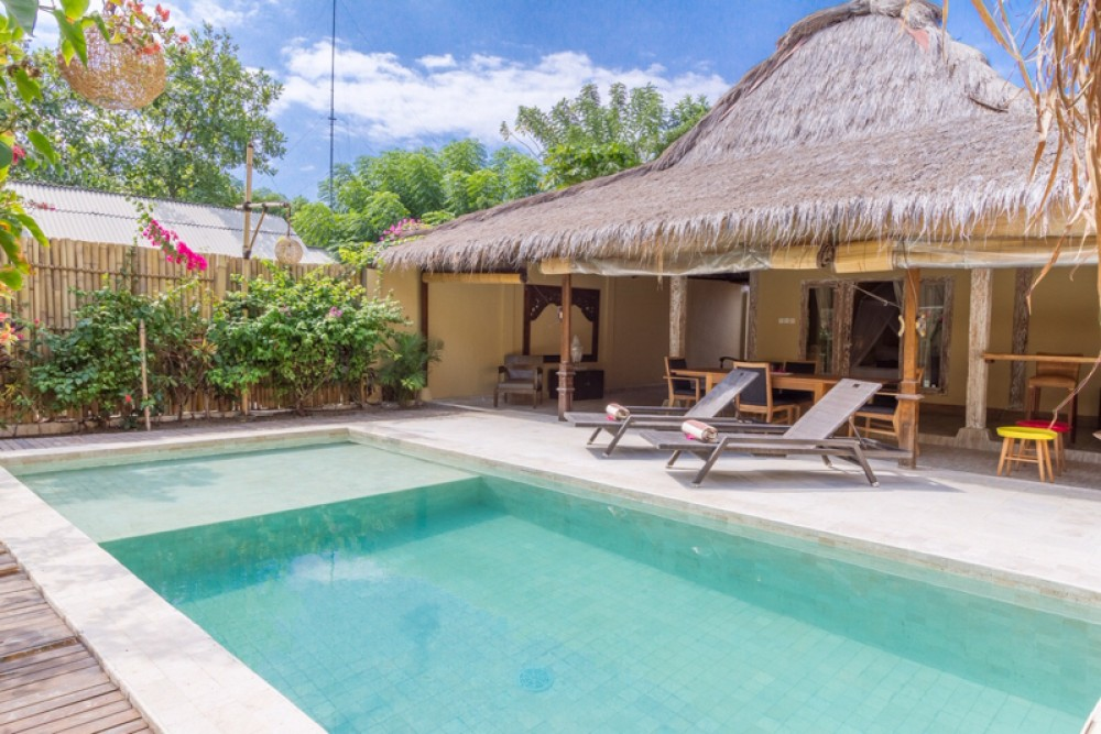 Good ROI One Bedroom Villa for Sale in Gili Meno