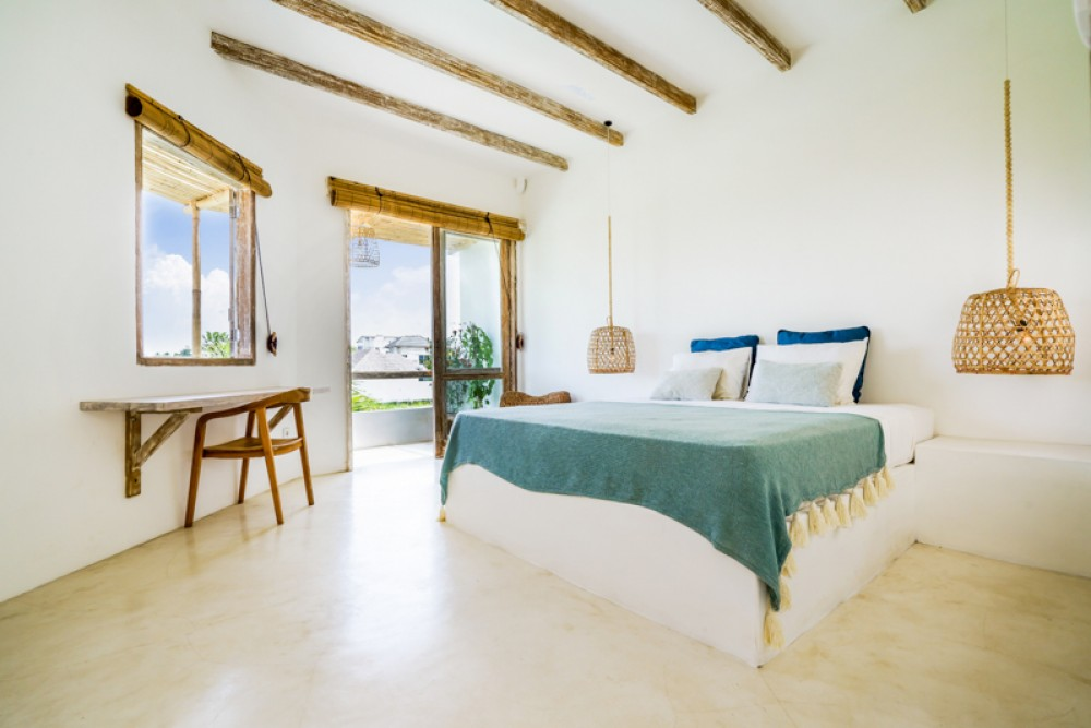 Style méditerranéen avec rizières Voir Villa à vendre à Umalas