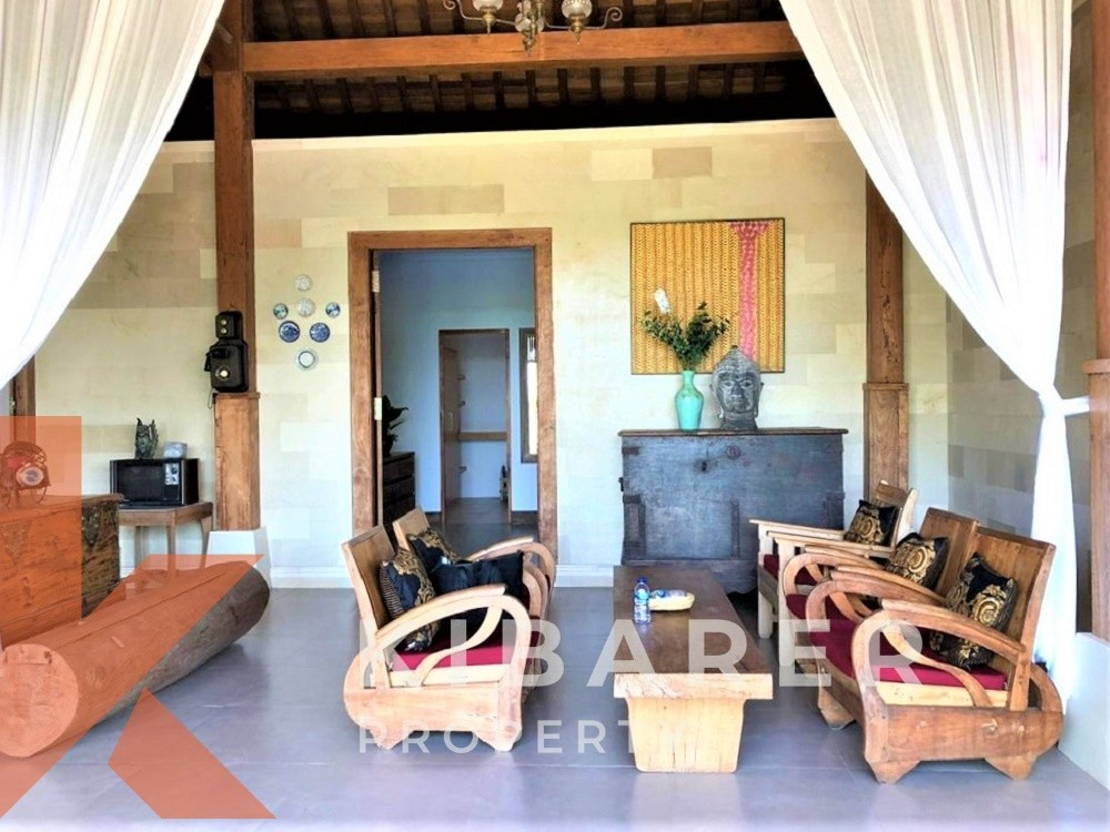 BRAND NEW FOUR BEDROOM JOGLO STYLE VILLA FOR MONTHLY RENTAL