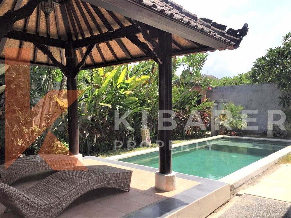 cozy one bedroom complex villa in umalas