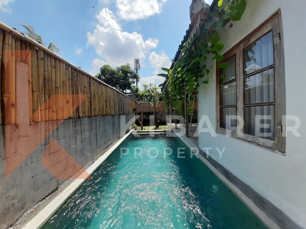 Two Bedroom Villa Unfurnished in Pererenan