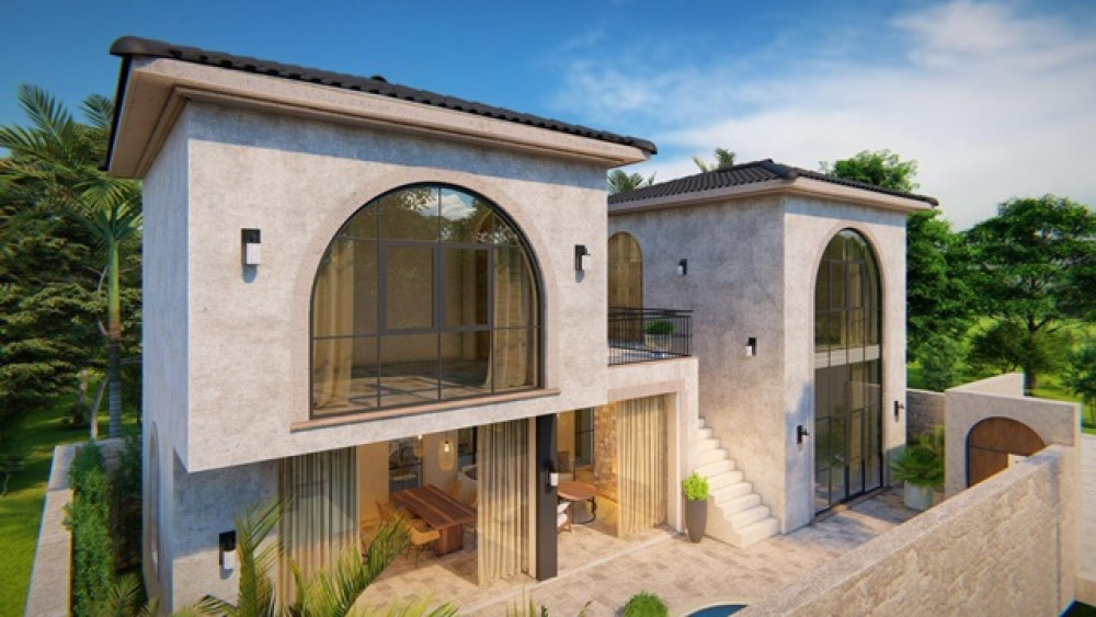 Cozy 3 Bedroom Villa in Batu Bolong for Leasehold Sale