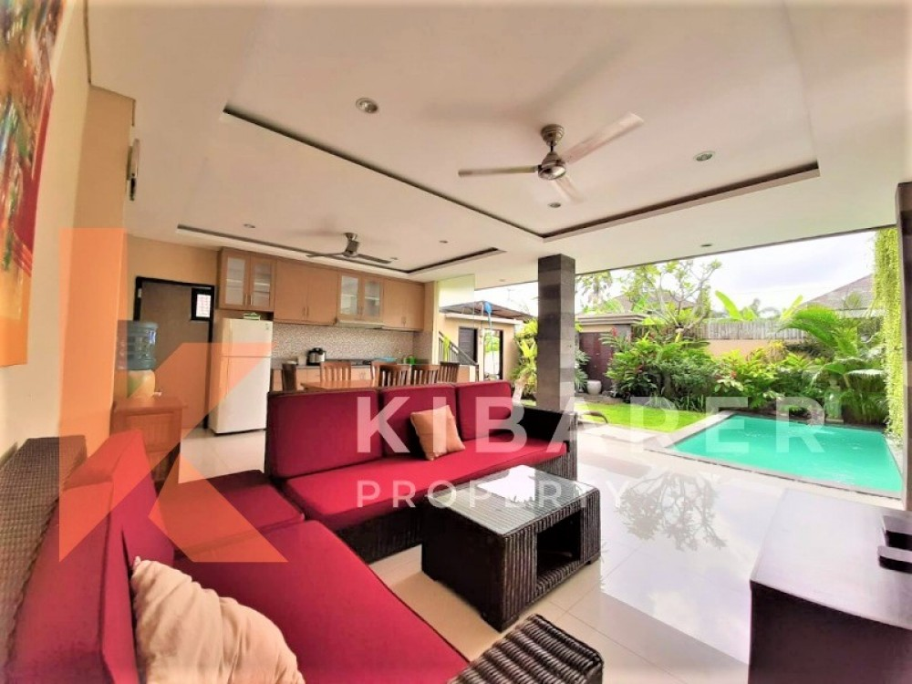 cozy 3 bedroom villa for living in babakan canggu