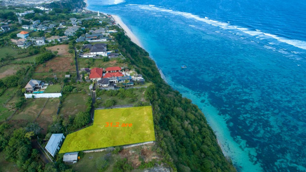 Unique cliff land with IMB and project for sale