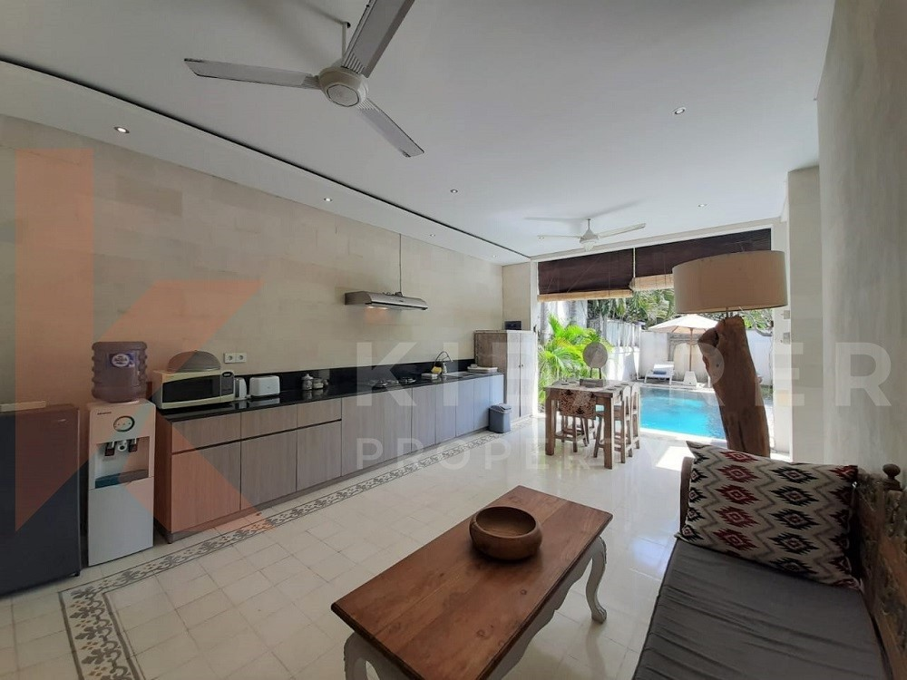 Two Bedroom Villa full furnished close to Batu Belig beach