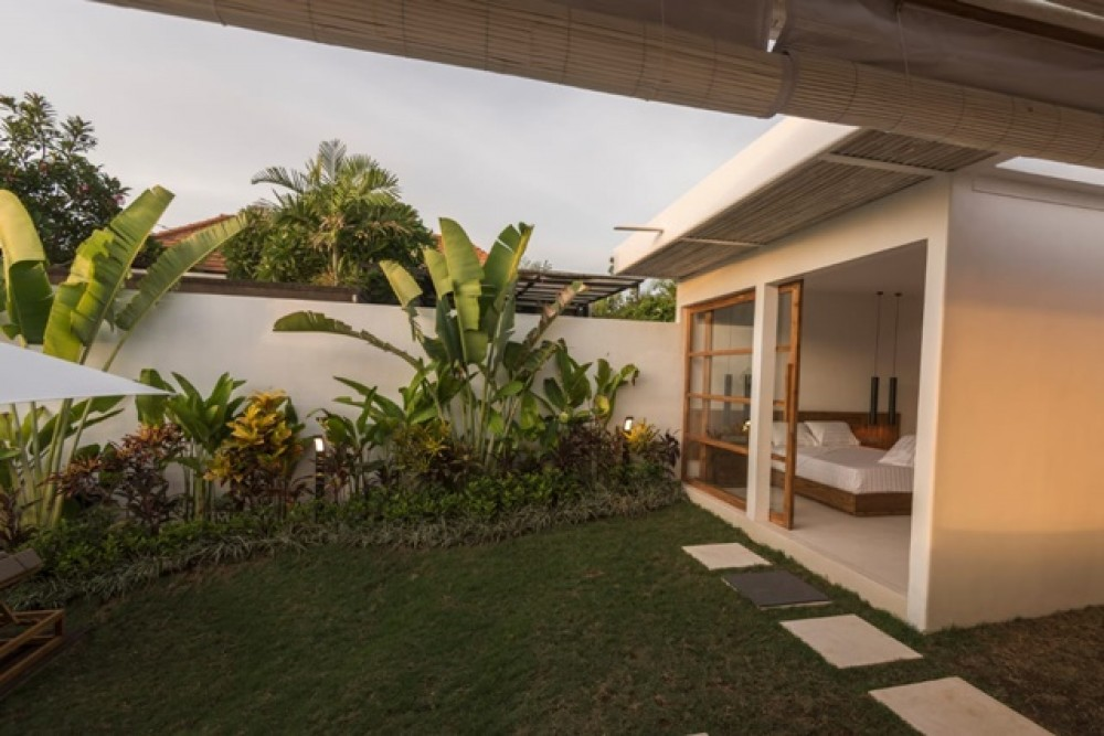 Freshly Built Tropical Villa in Umalas for Leasehold Sale