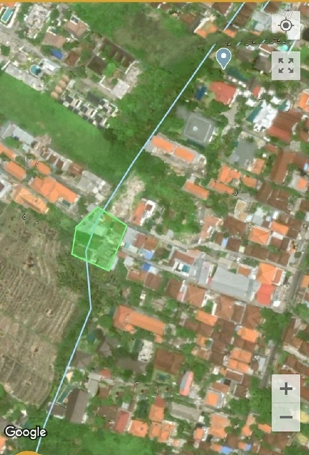 Beautiful Plot in Desirable Area of Berawa for Leasehold Sale