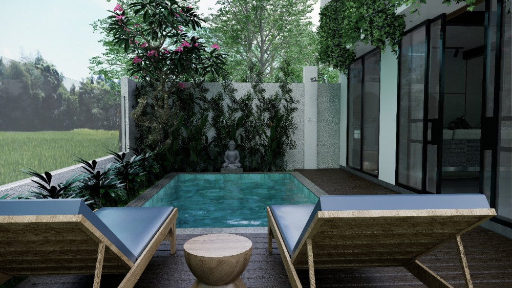 Modern Upcoming Two Bedrooms Project Villa for Sale in Padonan