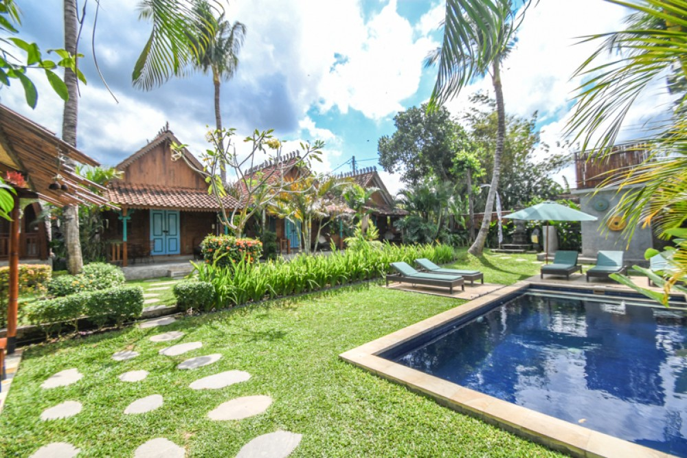 Amazing Javanese Joglo Guesthouse with Best Value for Sale in Cemagi