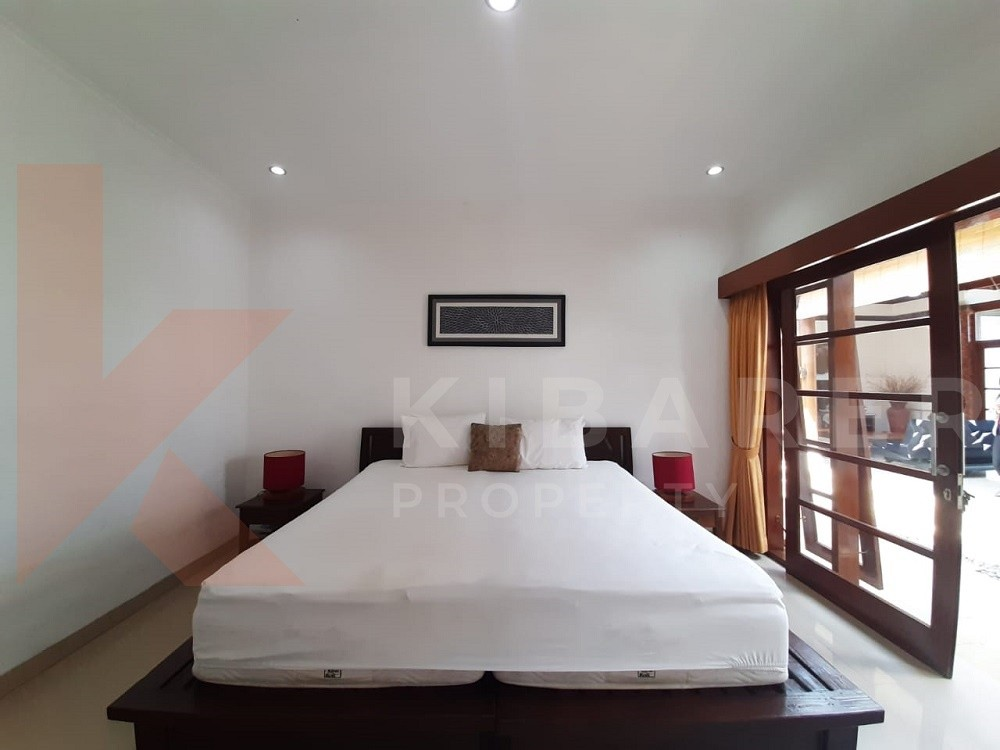 lovely three bedroom villa with rice field view in canggu