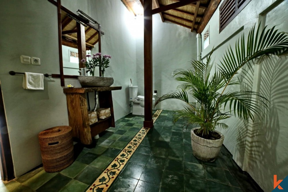Beautiful 2 Bedroom Joglo Leasehold  Villa in Tumbak Bayuh for Sale