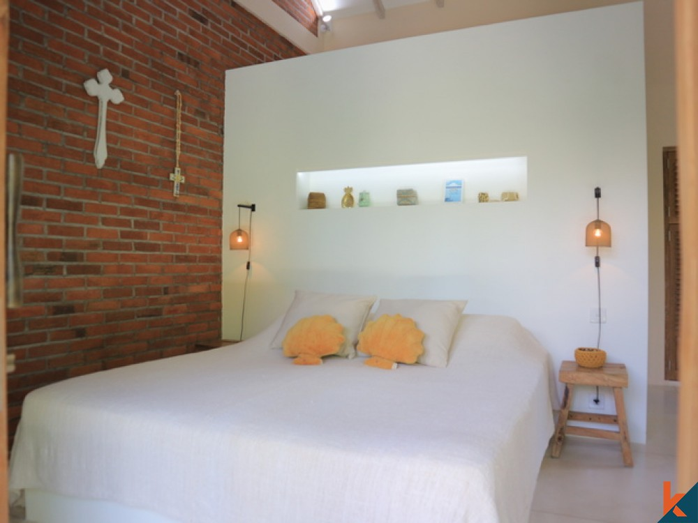 Tranquil 2 Bedroom Leasehold Villa with Elevated River View in Canggu for Sale
