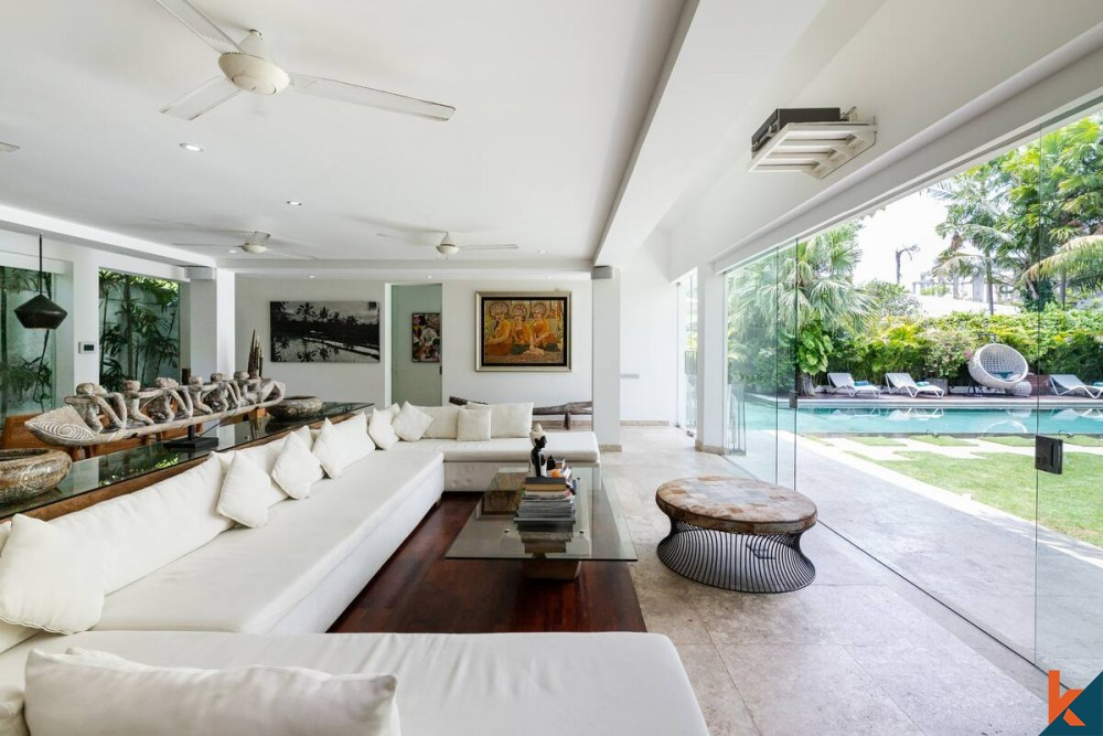 Luxurious 4 Bedroom  Leasehold Villa in Berawa for Sale