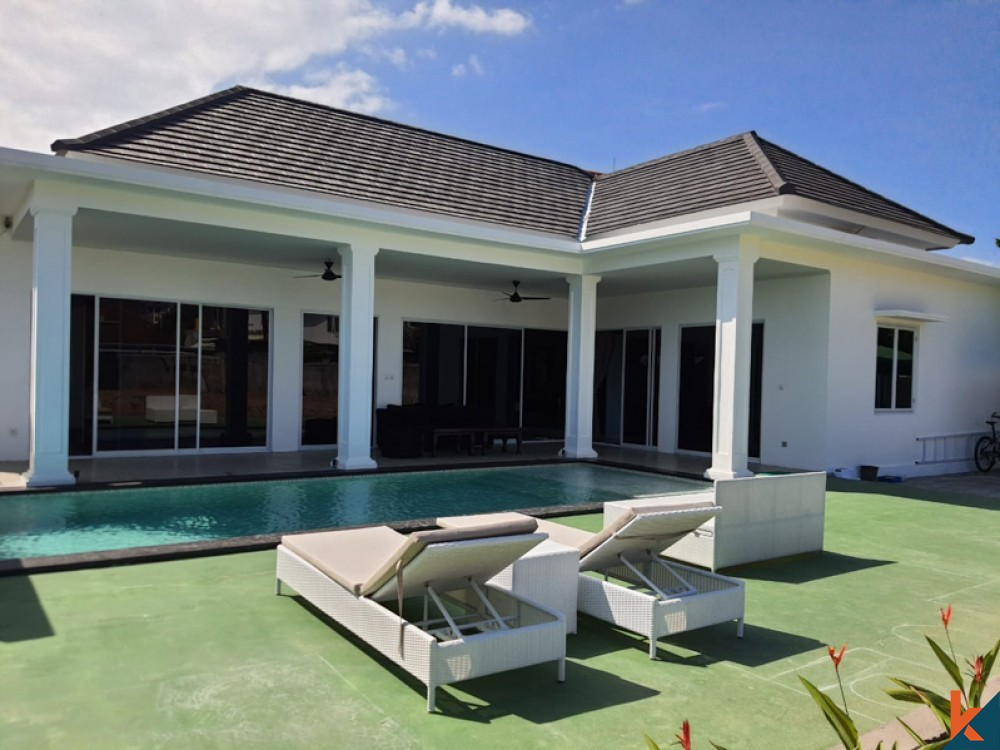 Brand New Villa with Spacious Land for Sale in Sanur