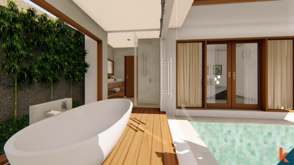 Brand New One Bedroom Villa for Sale in Pererenan