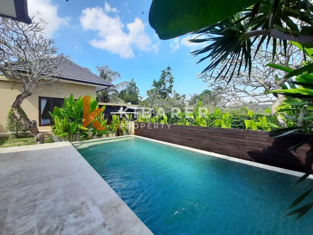 Belle villa confortable de deux chambres entièrement meublée à Canggu