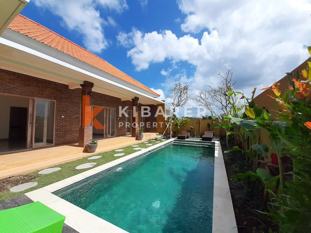 Brand New Three Bedroom Unfurnished Villa in Canggu