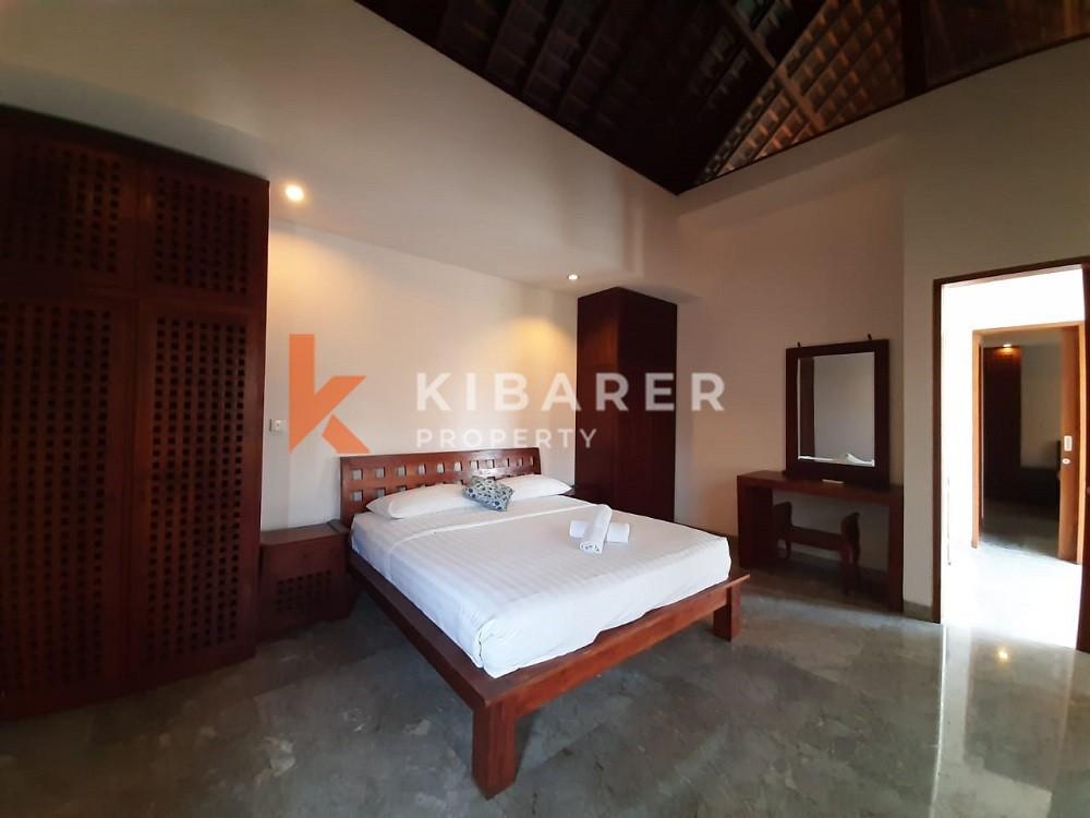 beautiful three bedroom villa in berawa canggu