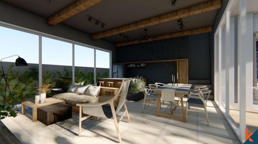 Villa Off Plan Modern 3 Kamar Tidur di Batu Bolong untuk Dijual Sewa