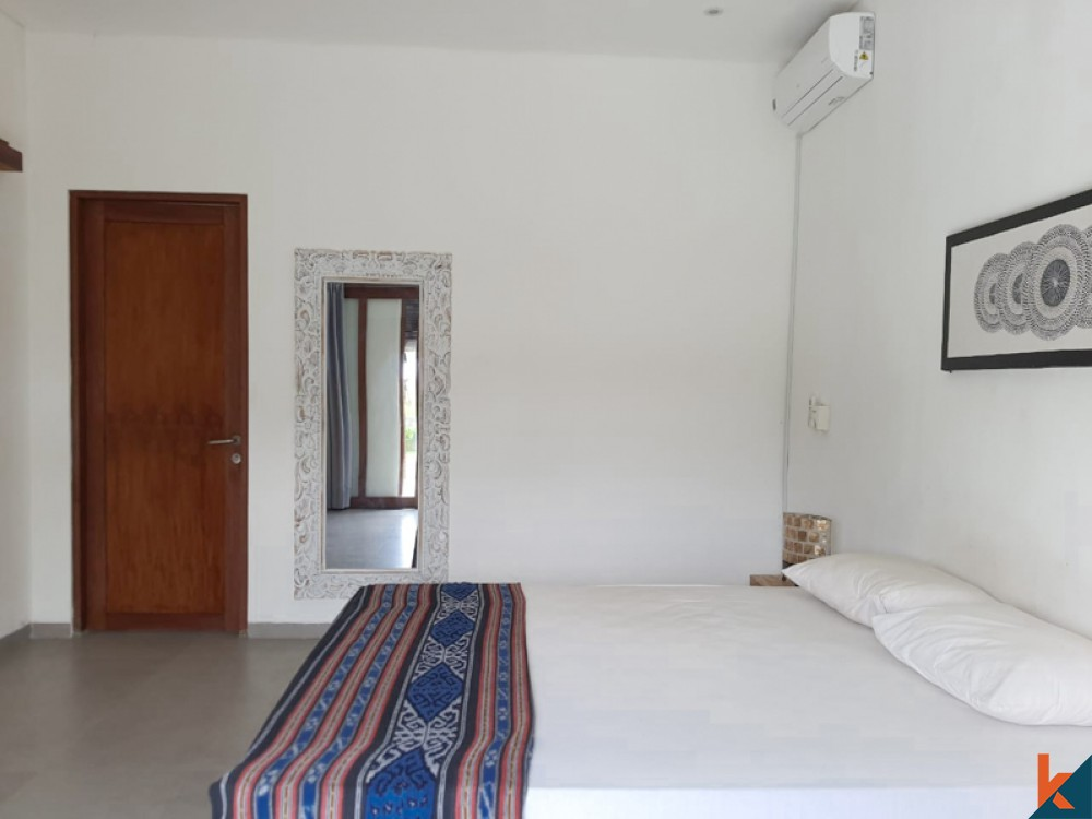 Relaxing Two Bedrooms Villa with Rice Field View for Sale in ubud