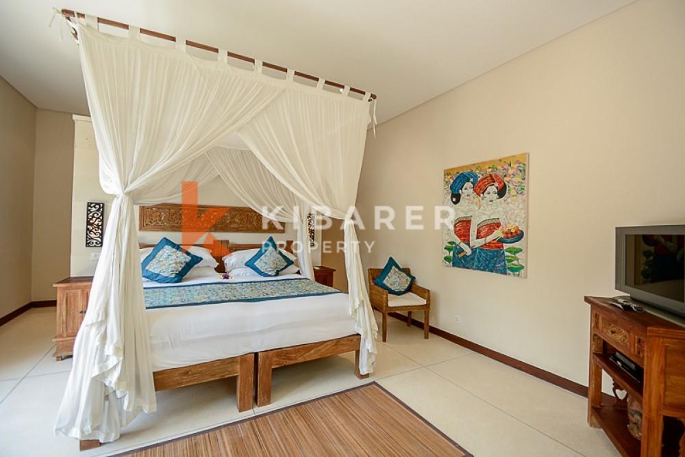 Beautiful two bedroom villa beach side villa in seseh