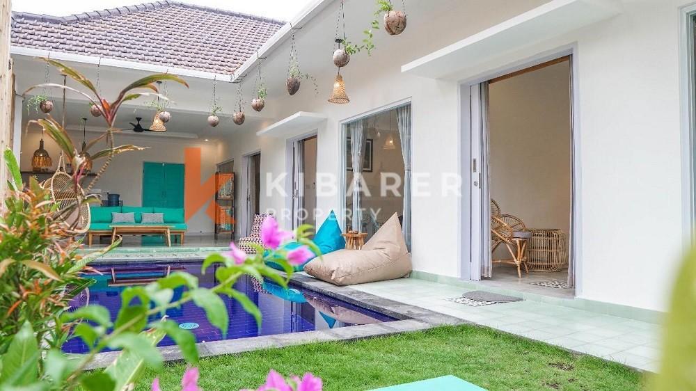 Villa Nyaman Tiga Kamar di Canggu