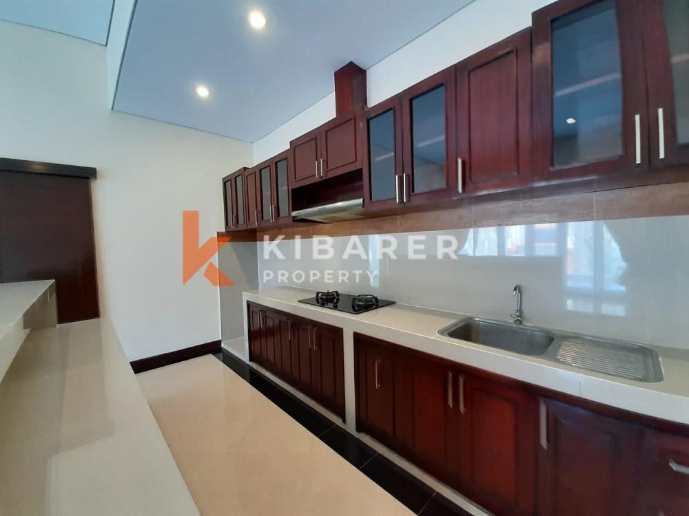 cozy three bedroom unfurnished villa  in seminyak