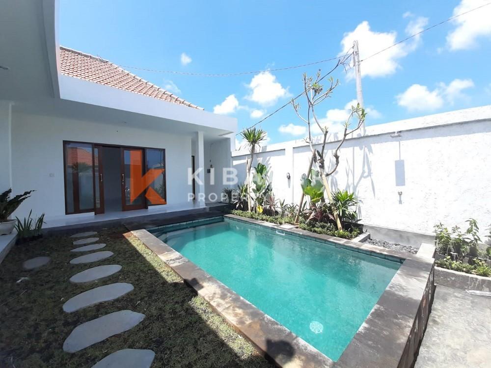Unfurnished Modern Brand New Three Bedroom Villa located in Canggu