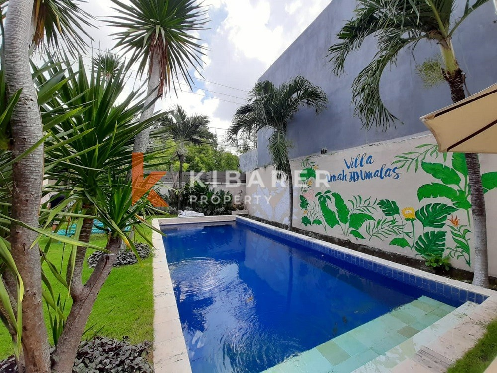 Three Bedroom Villa full furnished with spacious garden in Umalas