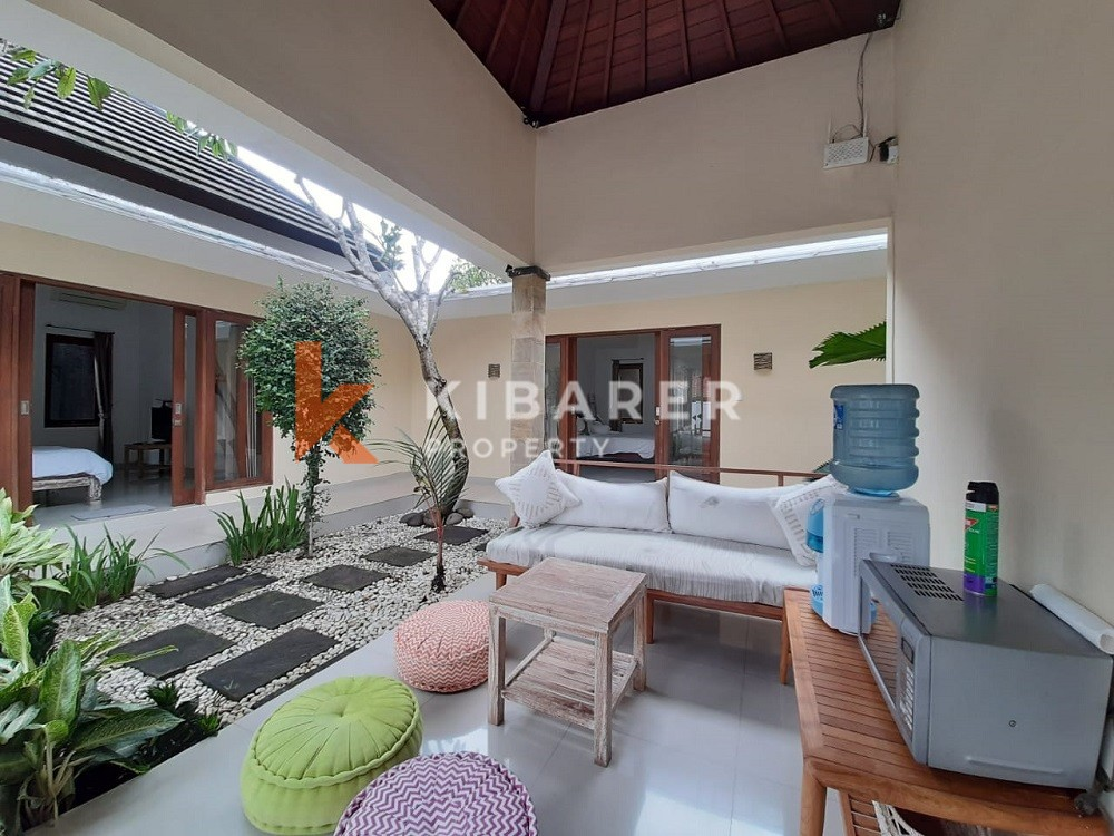three bedroom full furnished villa in umalas ( will be available on January 2021 )