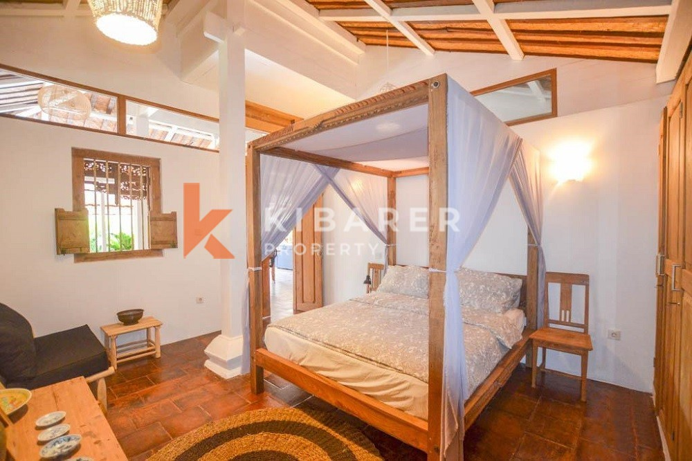 Lovely Two Bedroom Villa joglo located in Canggu ( will be available on 21th May 2021 )