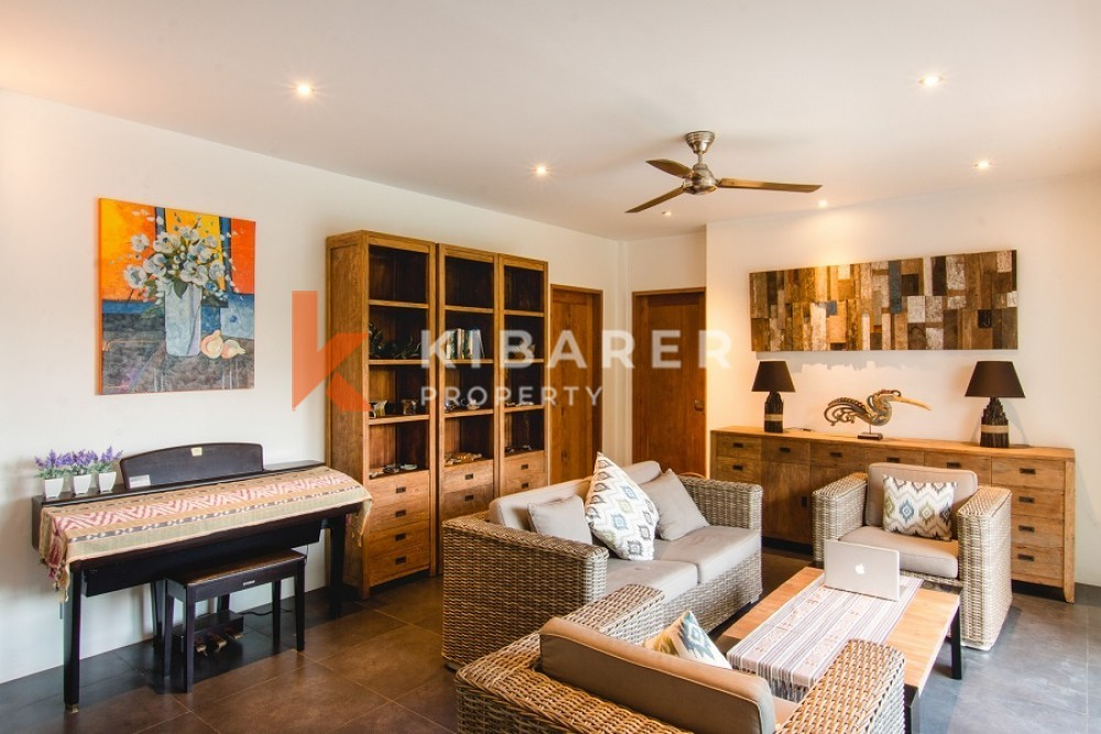 beautiful luxury four bedroom villa in quiet area of canggu