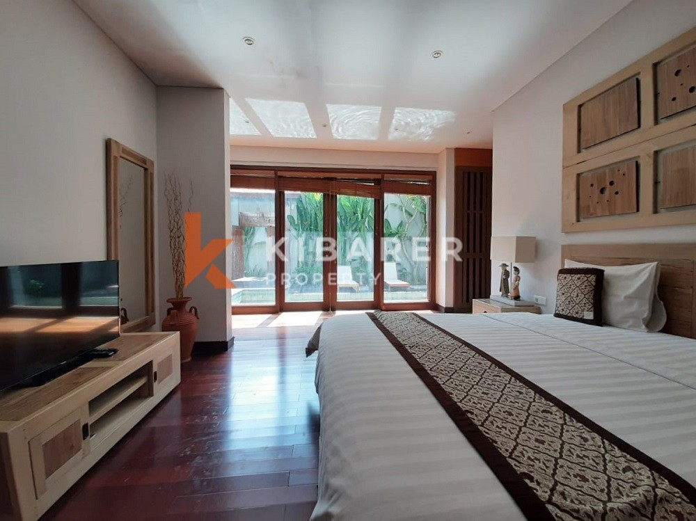 Modern Three Bedroom Complex Villa in Seminyak Area