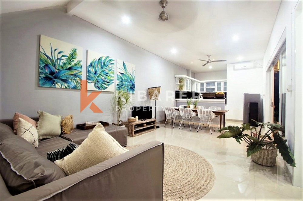 BEAUTIFUL THREE BEDROOM CLOSED LIVING VILLA IN PADANG LINJONG