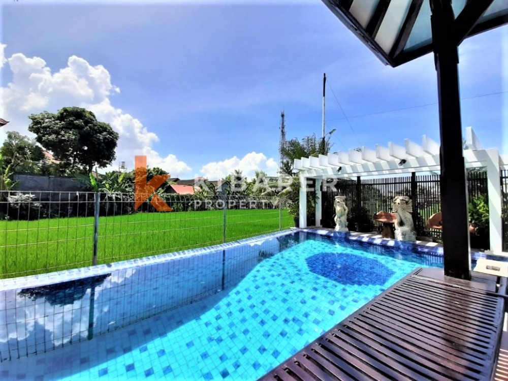 Beautiful Four Bedrooms Villa and A Good Opportunity for Business In Canggu