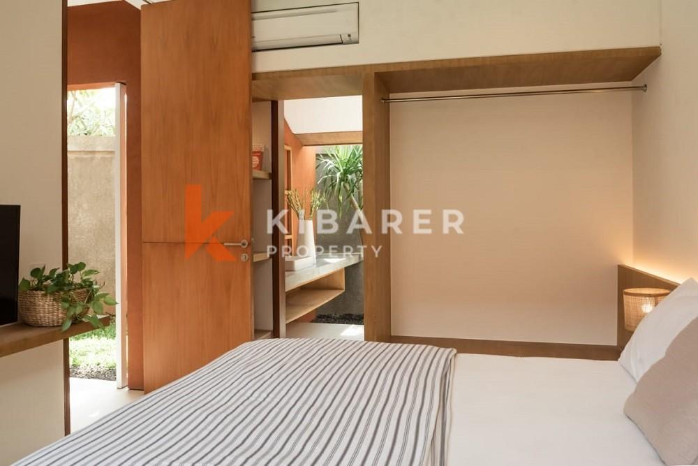 Modern Three Bedroom full furnished villa in Pererenan