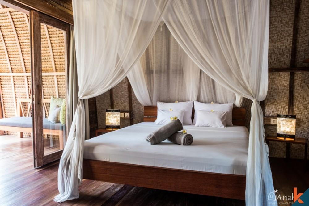 Boutique Hotel avec des villas avec piscine privée à vendre à Gili Air